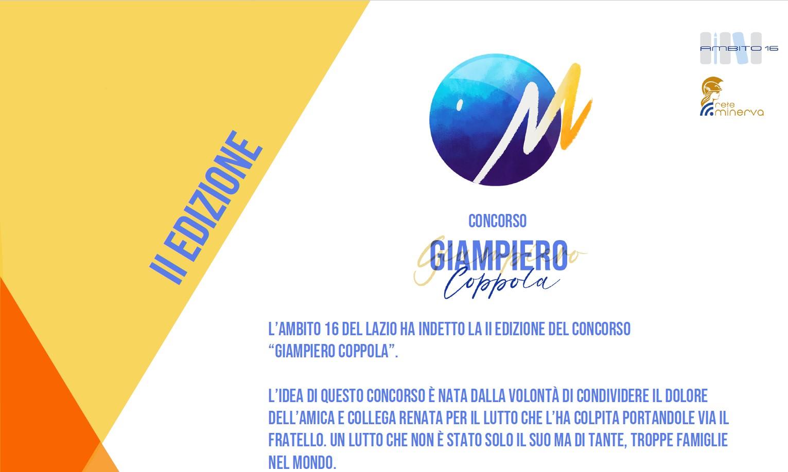II Edizione concorso Giampiero Coppola